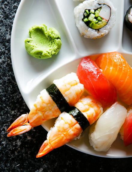 Cómo distinguir el buen sushi
