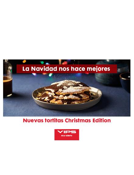 Nuevas tortitas Christmas Edition Vips