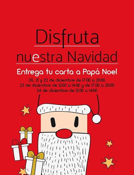 Entrega tu carta a Papá Noel