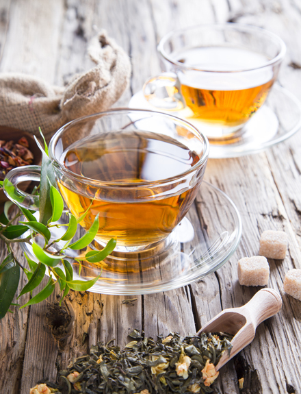 Los cuatro beneficios del té verde