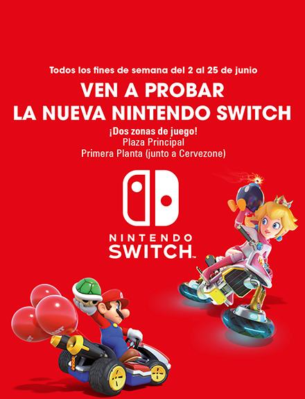 ¡Divertirse en el centro comercial Sexta Avenida nunca fue tan fácil como con la consola de moda, la Nintendo Switch!
