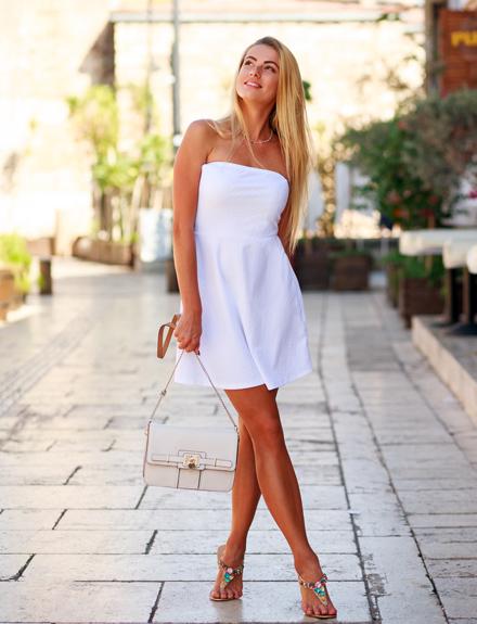 Cómo vestir bien de color blanco