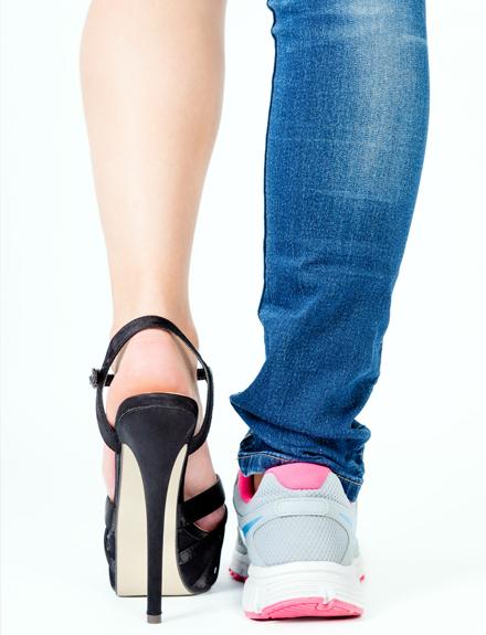 Zapatillas deportivas para ir fancy a trabajar