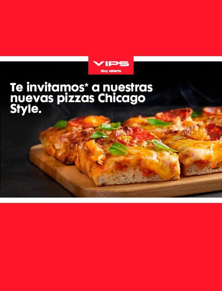 Nuevas pizzas Chicago Style