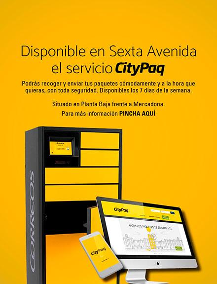 Nuevo servicio CityPaq