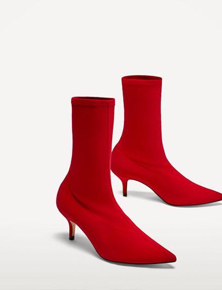 El botín calcetín: nostálgica versatilidad