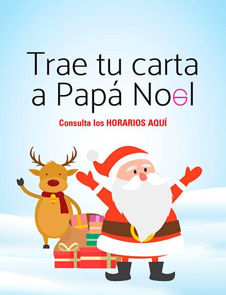 TRAE TU CARTA A PAPÁ NOEL