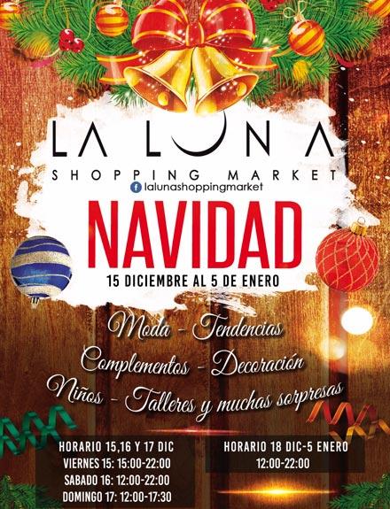 La Luna Shopping Market Navidad