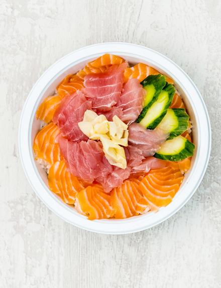 Cinco tipos de sushi fuera de lo habitual