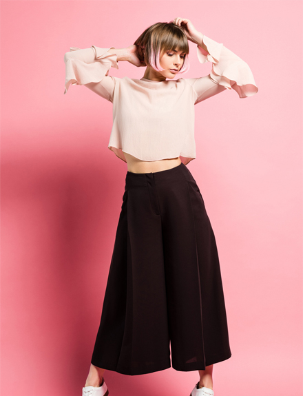 Falda pantalón: Sofisticada dualidad