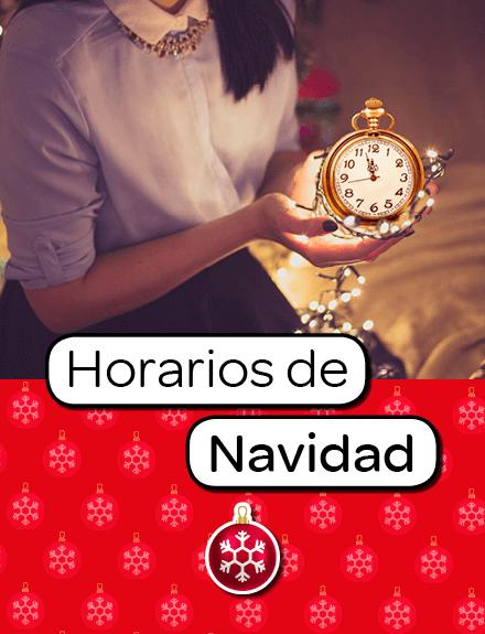 Horarios Navidad