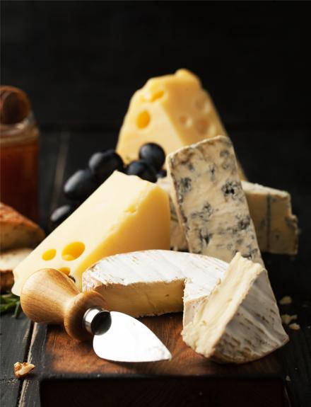 Cómo distinguir los tipos de quesos