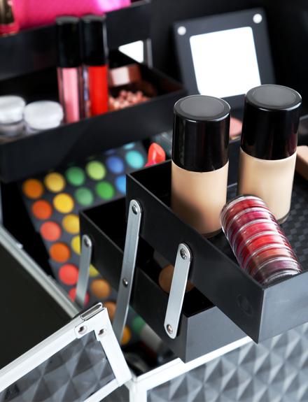 maletín de maquillaje profesional