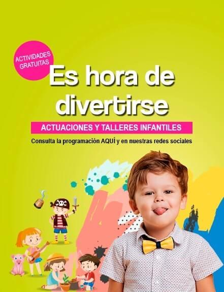 Actividades Infantiles Abril a Junio