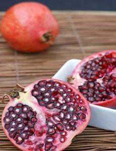 La granada, fruta antioxidante